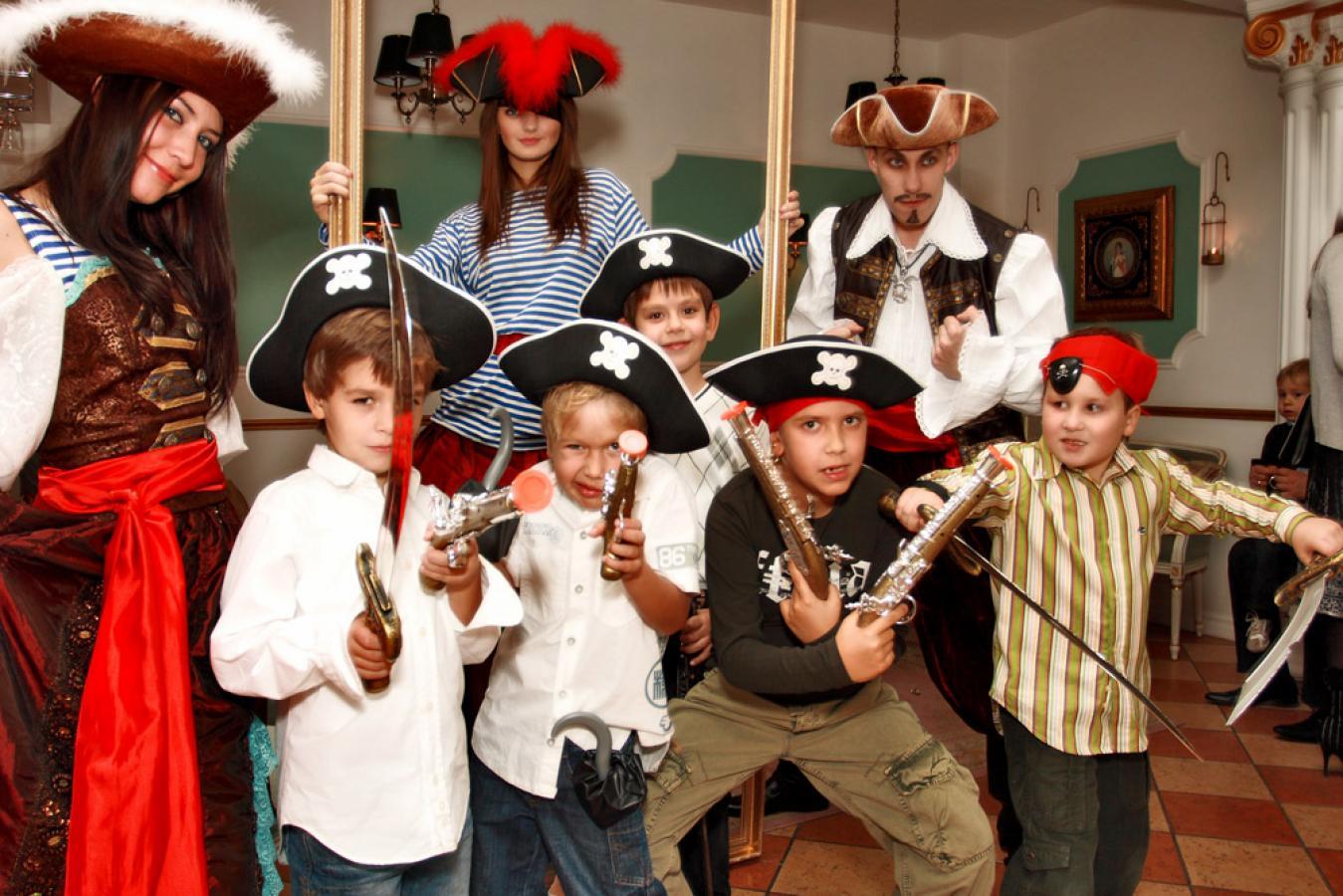 Детский сценарий в пиратском стиле